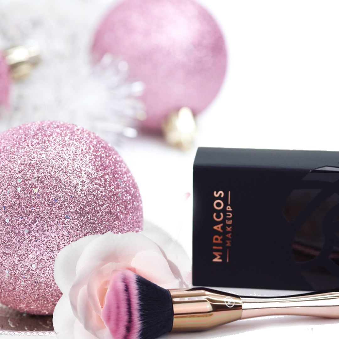 Miracos Rose Makeup Brush By Beauty After Forty
